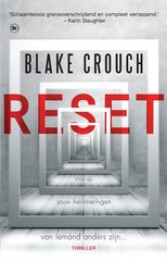 """Reset"" door Author Blake Crouch"